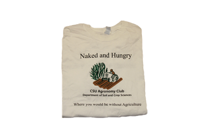 Picture of CSU Agronomy Club - Naked and Hungry 5K 2015 T-shirts