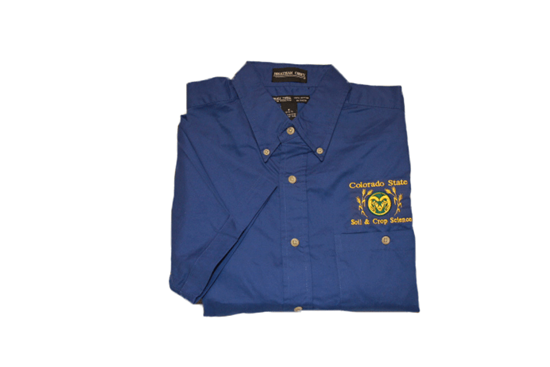 Picture of Button Down Dress Shirt - Royal Blue